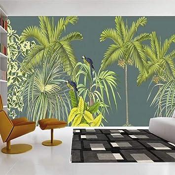 Murales Hojas Tropicales