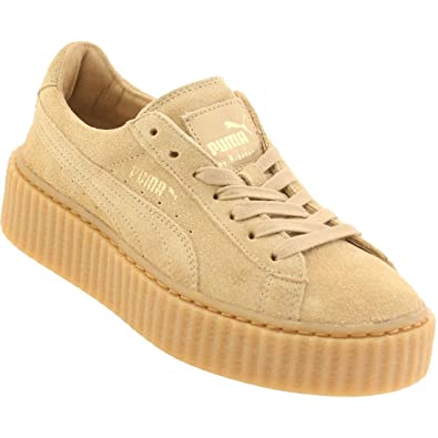 Buy Puma x Rihanna Women Suede Creepers (BrownOatmeal) Size