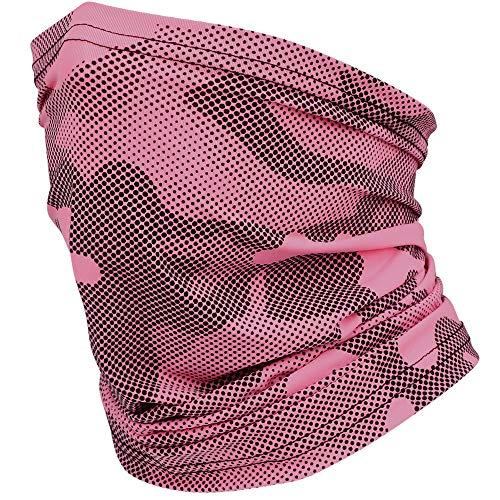 HASAGEI Colsjaal voor dames en heren, masker, hardlopen, sjaal, halsdoek, hoofddoek, sjaal, bandana, voor sport, fietsen…