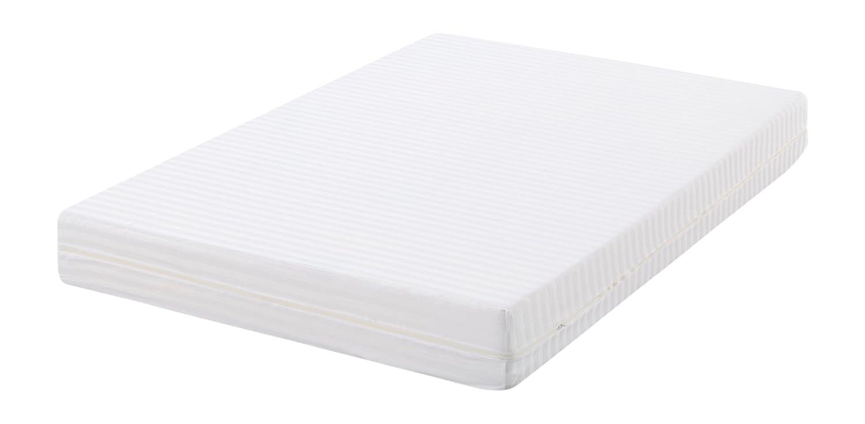 Oasis 7561 - Funda de colchón cutí Raso labrado, 100% algodón sanforizado, 150 x 200 cm, Color Blanco