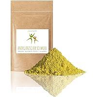 Anorganischer Schwefel (sulfur) - 500 g - BESTSELLER - 99,9% pharmazeutisch rein (Ph. Eur.) - fein gemahlen - Schwefelpulver - aus Naturrohstoff - säurearm - MADE in GERMANY