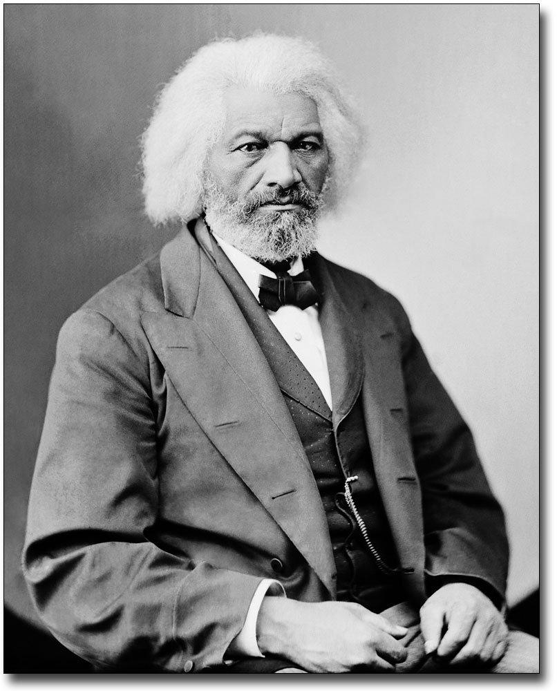 Frederick Douglass Brady Portrait 8x10 Silver Halide Photo Print by The McMahan Photo Art Gallery & Archive