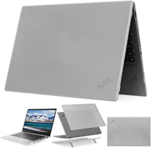 """mCover Hard Shell Case for 14"""" Lenovo ThinkPad X1 Carbon G7 (Fits 2019 7th Generation ONLY) Laptop Computer - X1-Carbon-G7 Clear"""