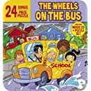 Wheels On The Bus (Music CD and 24 Piece Puzzle In Collectors Tin): Great Kids & Childrens Music features the classics, The Wheels on the Bus, 5 Little Monkeys, One, Two, Buckle my Shoe and more