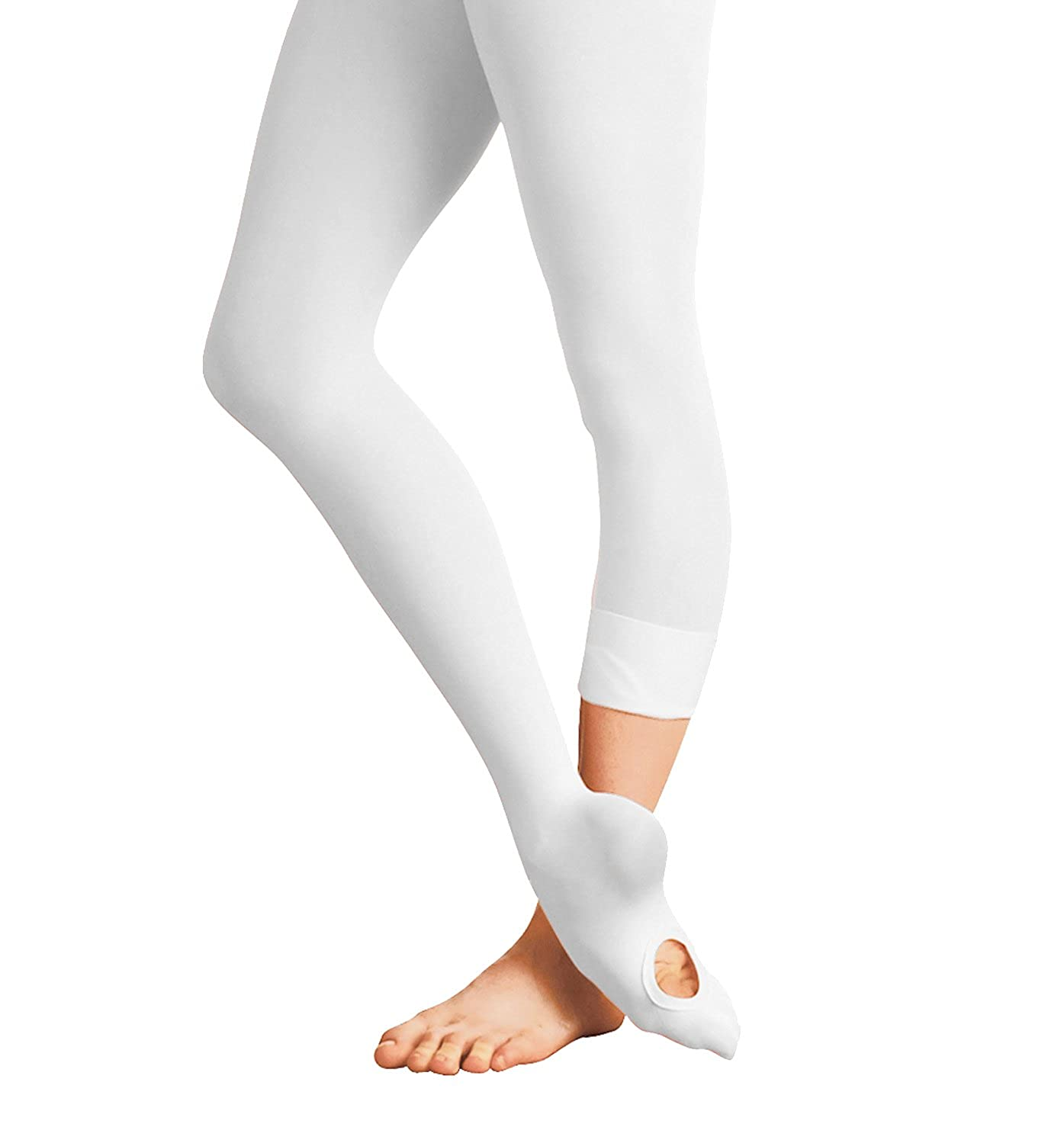 S//M CHILD White Bodywrappers Totalstretch Convertible Tights