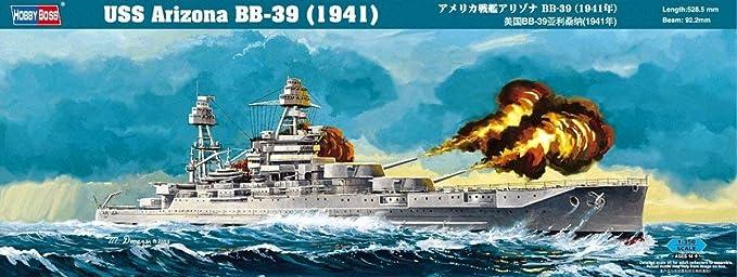 in 1:350 Hobby Boss 86501 USS Arizona BB-39 1941