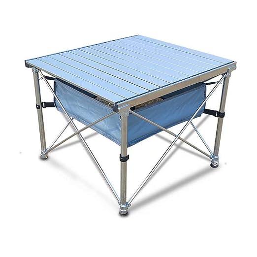 HSTFR - Mesa y sillas Plegables de Aluminio para Picnic, portátil ...