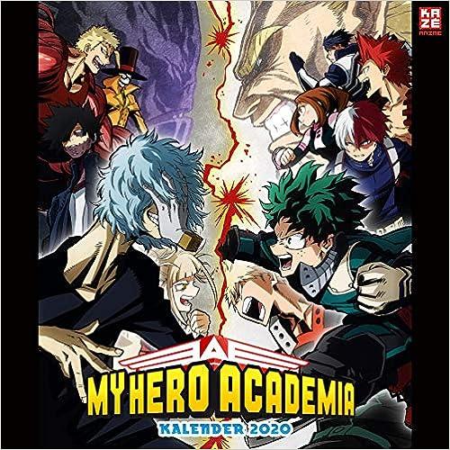 Télécharger My Hero Academia - Wandkalender 2020 EPUB eBook gratuit