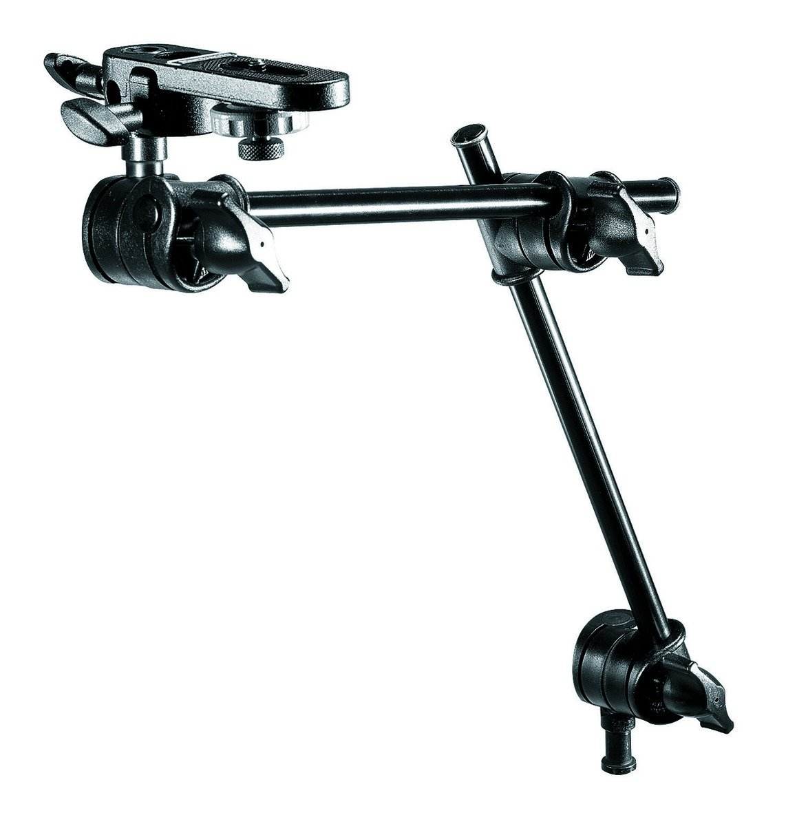 Manfrotto 196B-2 143BKT 2-Section Single Articulated Arm with Camera Bracket (Black)
