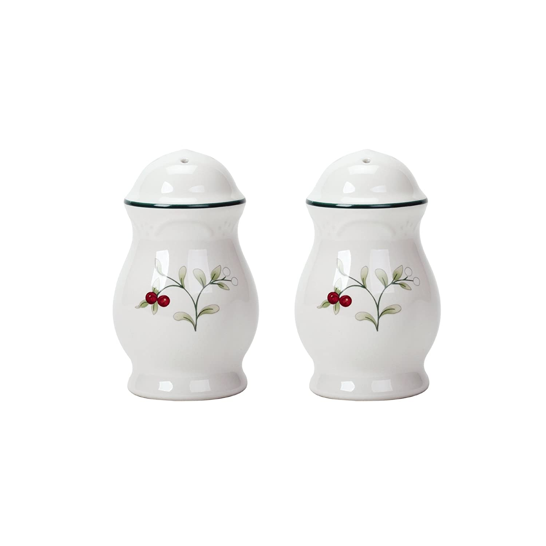 Pfaltzgraff Winterberry Stoneware Salt-and-Pepper Set- 109-025-00