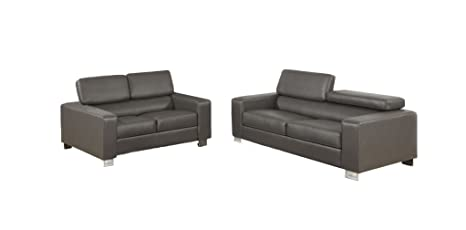 Amazon.com: Muebles de América Bloomsbury 2-Piece Match ...