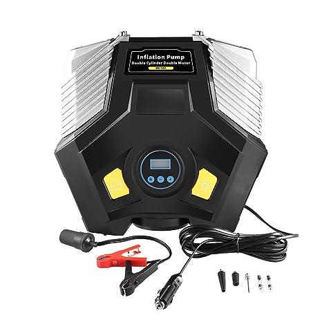 Car Rover Bomba Inflable Portátil, Mbuynow Digital 12V 150PSI Compresor de Aire Portable Bomba eléctrica