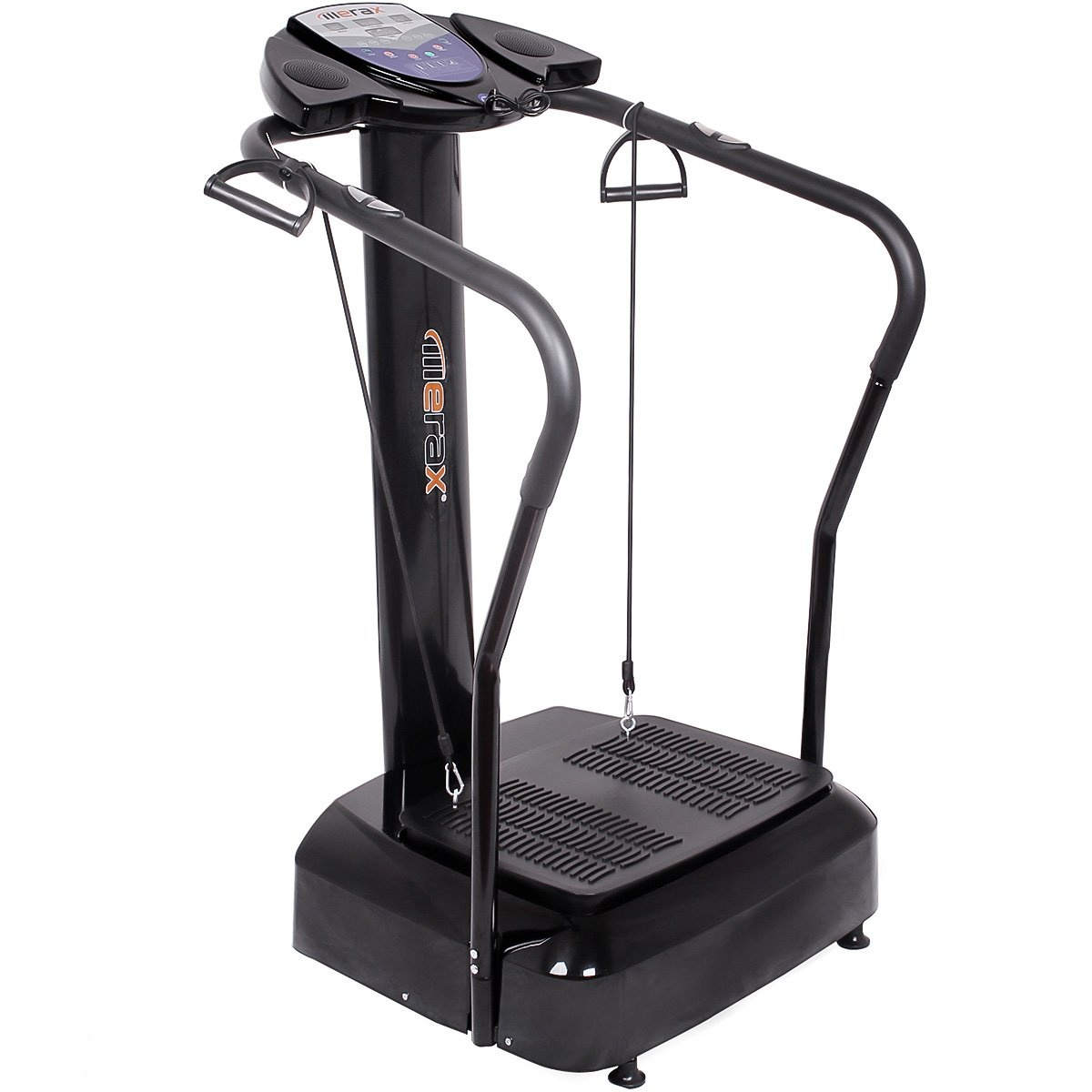Merax 2000W Whole Body Crazy Fit Vibration Platform Fitness Machine withYoga Straps and MP3 Player by Merax