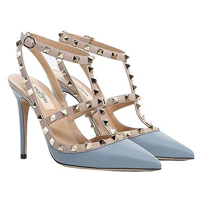 7cd5507973bf Stiletto High Heels Slim Pumps Silver Women Fashion Dolphin Lady ...
