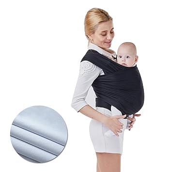 67cb0bd0bf9 Bandeau porte bébé – vandot Baby Wrap bande élastique porte enfant banane  Bandeau Bébé tenir le