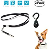 Ooopsi Dog Whistle and Clicker Training Combo To Stop Barking - Coddler Premium Adjustable Pitch Ultra Sonic Dog Whistle and Pet Training Clicker