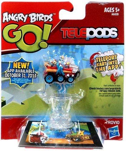 Angry Birds GO! Telepods BLUE Birds Kart - Blue Jay, Jake and Jim (the Blues) (Telepods Go Angry Birds)