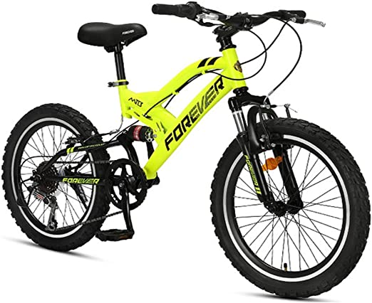 Bicicletas de montaña para niños, bicicleta de montaña de doble ...