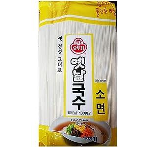 Ottogi Somen Noodles 1.5kg 잔치국수, Product of Korea