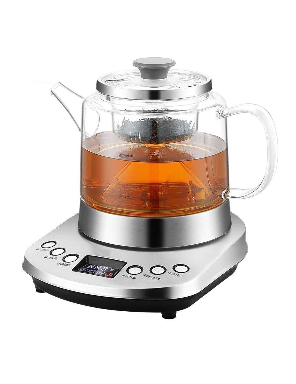 Acquisto Bollitore YONGYONGCHONG Automatico di Acqua Elettrico Intelligente Isolamento tè termostato teiera elettrica di Vetro Set di tè riscaldatore (800 ml) Prezzi offerte