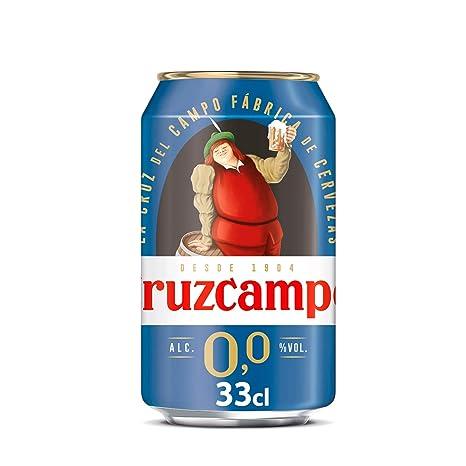 Cruzcampo 00 Cerveza lata - 330 ml: Amazon.es: Amazon Pantry