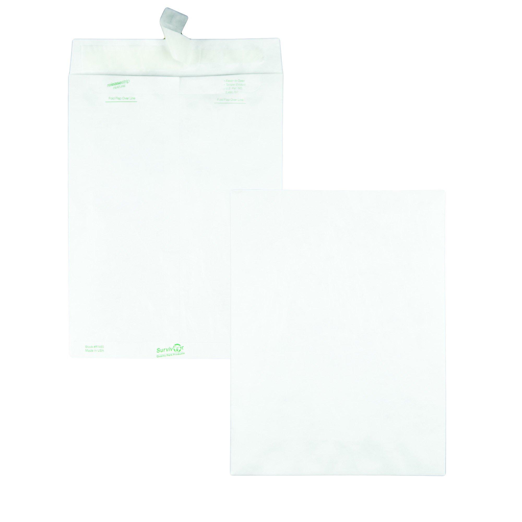 Quality Park Survivor R1460 Tyvek Mailer, 9 x 12, White (Box of 100) by Quality Park (Image #2)