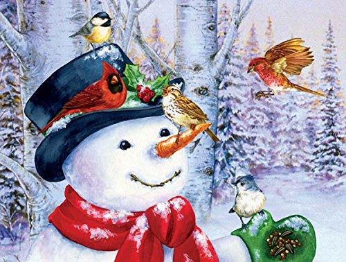 Sweet Snowman 500 pc Jigsaw Puzzle