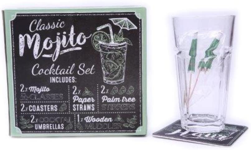 Compra Mojito cóctel pajitas de papel eléctrica Set de regalo ...