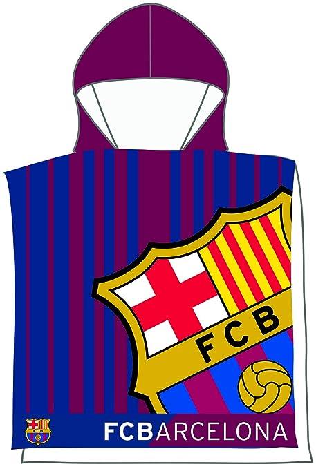 FCB FC Barcelona Poncho Toalla 202 Color azulgrana 55 x 110 cm Skybrands A/S