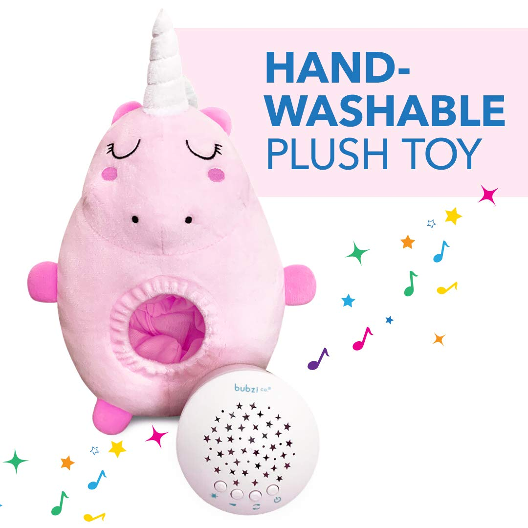 Unique Baby Girl Gifts /& Baby Boy Gifts New Baby Gift Gender Neutral Toddler Sleep Aid Night Light Portable Baby Soother Bubzi Co Baby Toys Unicorn White Noise Sound Machine Baby Shower Gifts