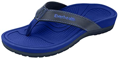 b15c89b8aec Everhealth Orthotic Sandals Stylish Thong Flip Flops Women Ultra Comfort  Slippers with Arch Support for Plantar Fasciitis