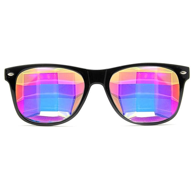 Amazon.com: GloFX anteojos Ultimate Kaleidoscope, arco iris ...