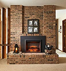 """Outdoor Great Room 29"""" Electric Fireplace Insert Heater from 2gig"""