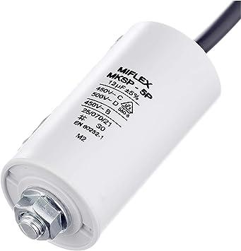 Condensador de arranque de motor 35 /μF 450 V con cable