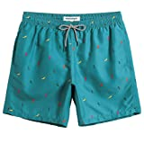 MaaMgic Mens Boys Short Swim Trunks Cute Mens