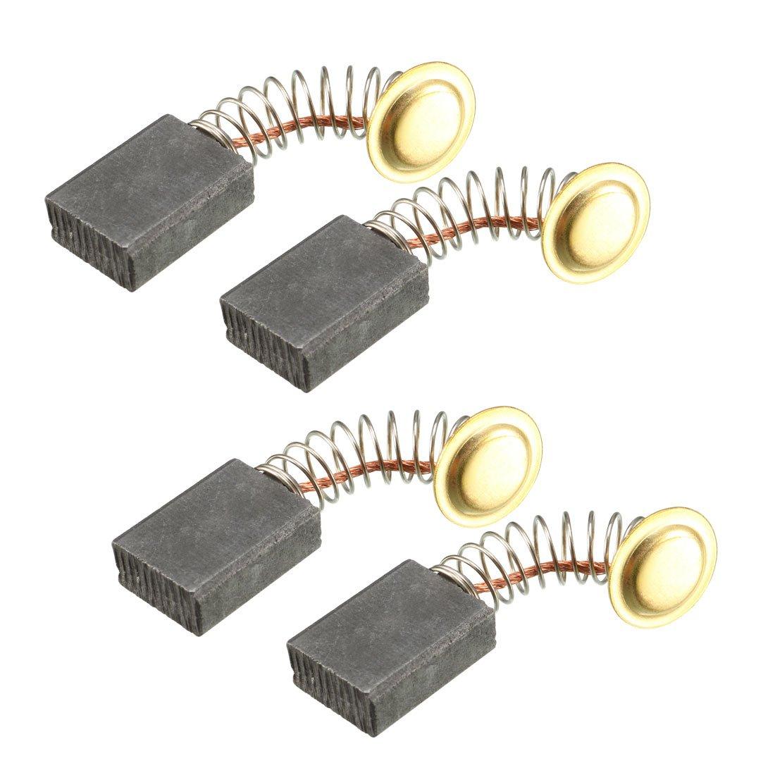8 escobillas de carbón de repuesto para amoladora angular eléctrica, 5 x 8 x 14 mm