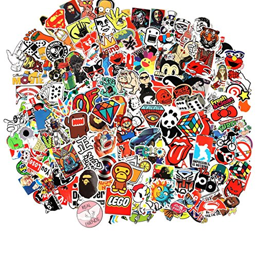 Cool Sticker 100pcs Skateboard Stickers