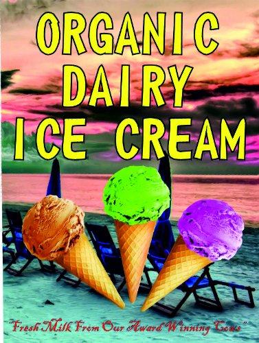 f4125 orgánico lácteos ICE CREAM leche fresca de nuestro ganador ...