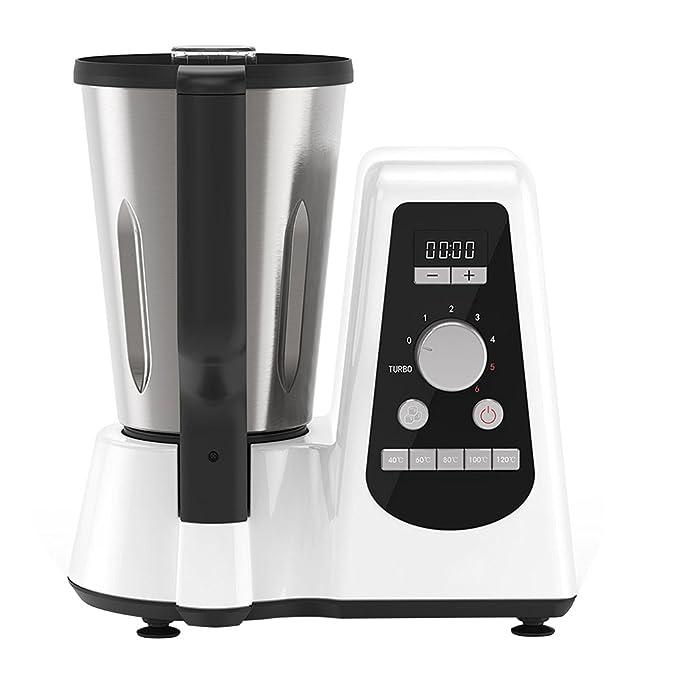 NewCook- Robot da cucina multifunzione New Cook Professional 1 litro di  capacità- 600 W- 6 velocità- 230 V, 50-60 Hz