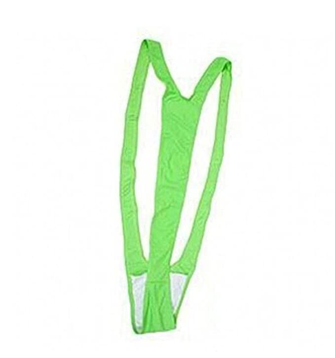0aad61b146c49 Amazon.com: WIIPU Borat style mankini swimsuit sling thong underwear teddy  bathing swim suit L: Clothing