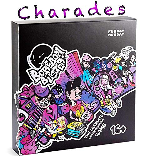Charades Party Game - Board Game for Families and Adults - Best for Game Night