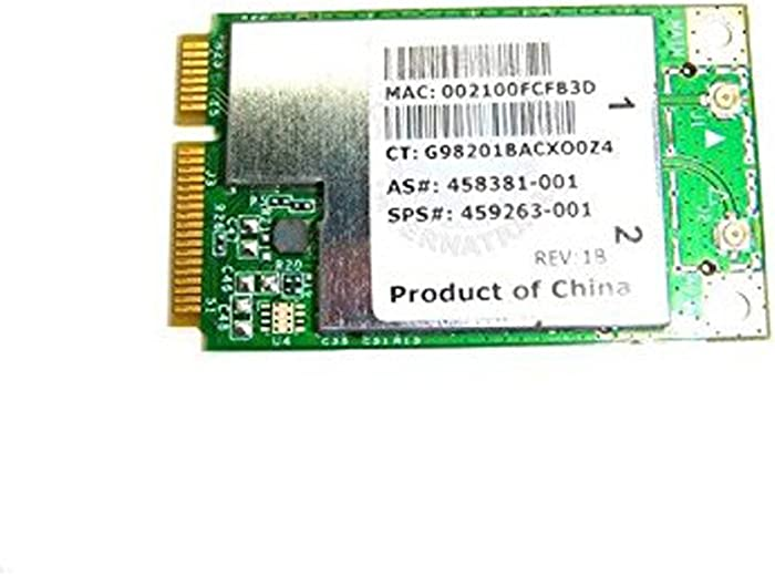 HP Touchsmart TX2-1000 Wifi Wireless Card 459263-001