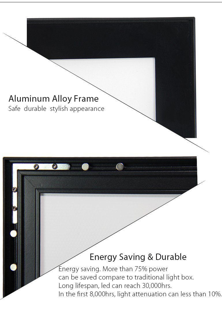Amazon.com  24 X36  LED Light Box picture Frame Aluminum Signs for Advertising  Office Products  sc 1 st  Amazon.com & Amazon.com : 24