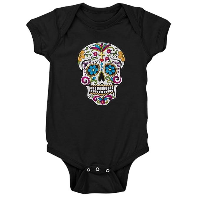 2c9d1e04ad Amazon.com  CafePress - Sugar Skull - Cute Infant Bodysuit Baby ...