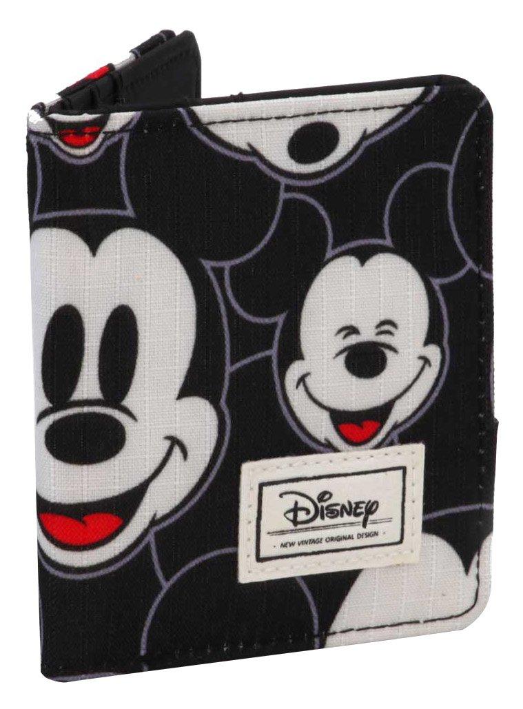 Disney Classic Mickey Visages Porte-Monnaie, 11 cm, Noir (Negro) Karactermania 36544