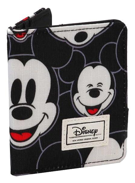 Karactermania Disney Classic Mickey Visages Monederos, 11 cm, Negro