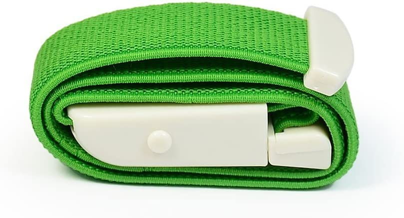 GUOYIHUA 1pc(Random Color)Tourniquet Strap,for First Aid Response//Hiking and Emergency Kits//Emergencies and occluding Blood Flow