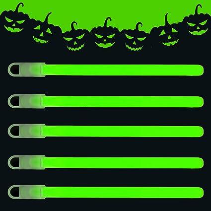 "10 Light Sticks Glow Sticks White 12 Hour 6/"" Camping Festivals wiv lanyard"