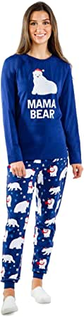 Matching Christmas Pajamas for Families - Polar Bear Holiday Pjs Matching