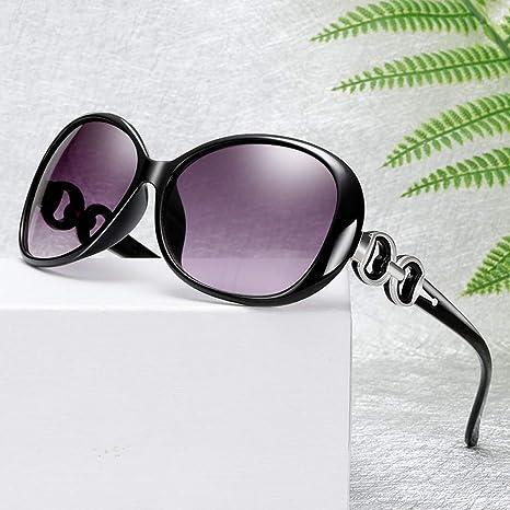 Yangjing-hl Gafas de Sol de Doble Anillo Burst Ladies Trend ...